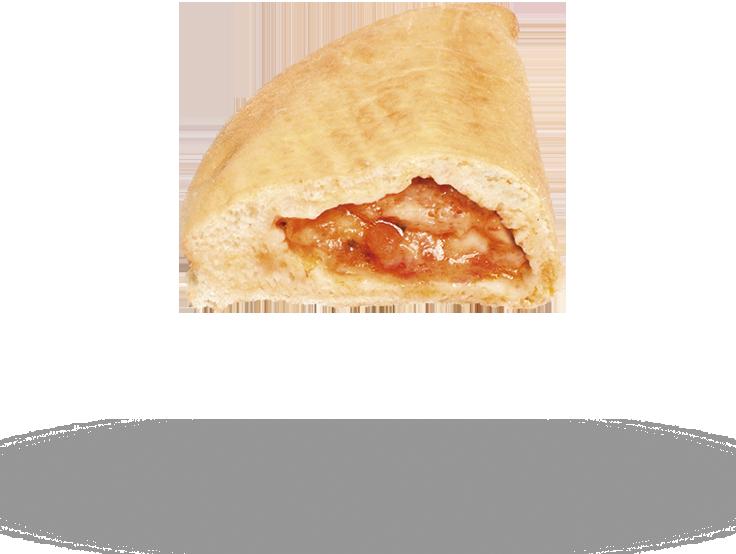 Calzone Margherita con Mozzarella Prefritto
