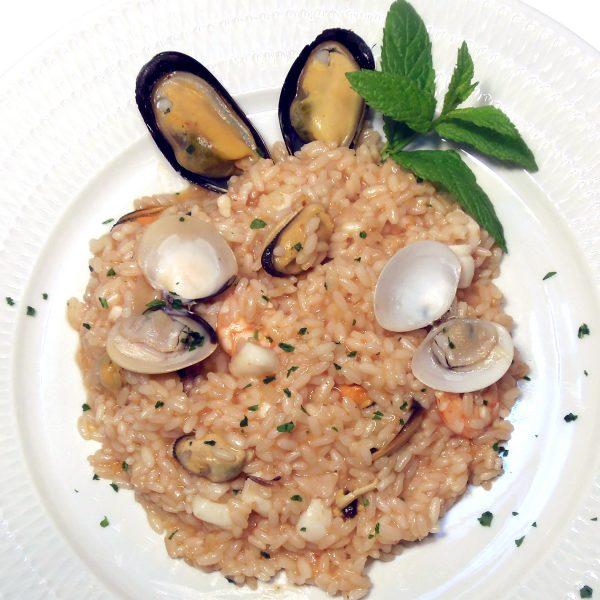 RISOTTO AUX FRUITS DE MER  Plats cuisinés à emporter