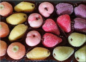 Fruits des Patisserie Pâte D'amande  artisanale