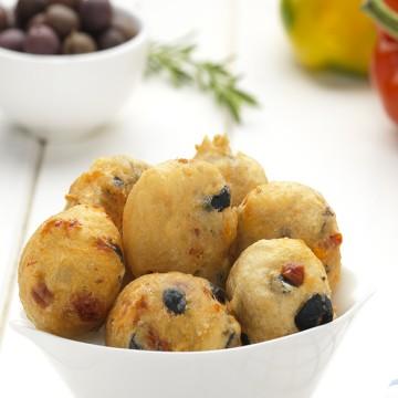 Frittelle Olive & Peperoni