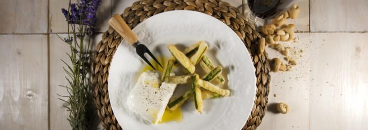 Stick zucchine in tempura
