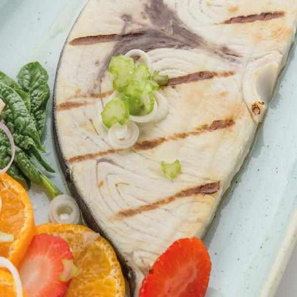 Trance di pesce spada sashimi